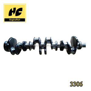 China Supplier High Quality 3306 auto engine forged steel crankshaft