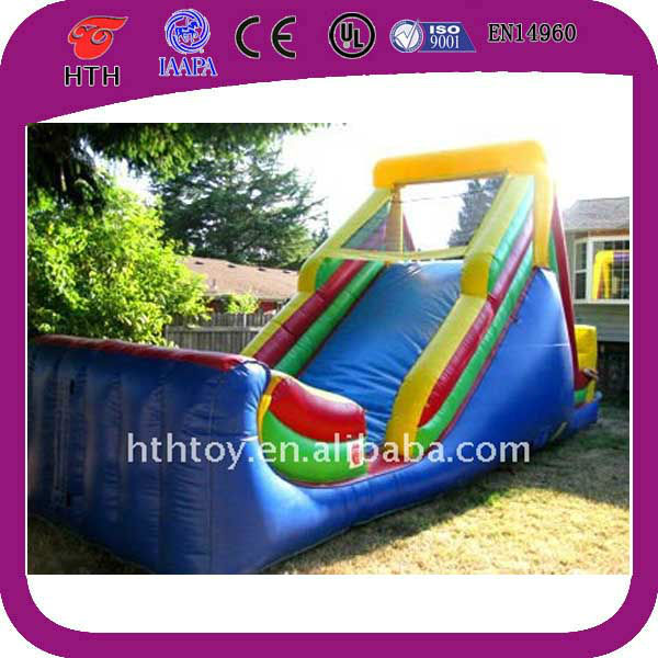 Outside yard giant inflatable slip n slide for sale