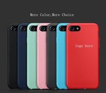 Promotion original silicon case custom mobile phone cover for iphone 7 7Plus