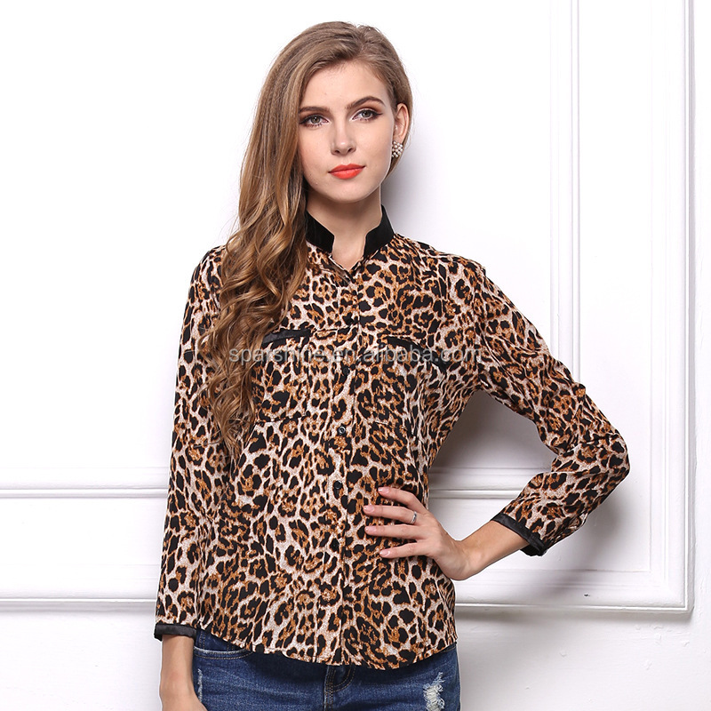 French Style Blouse Blusa Spandex Women Long Sleeve Blouses