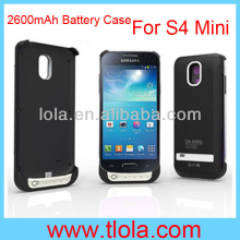 External Battery Case for Samsung Galaxy S4 Mini 2600MAh Power Bank