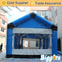 Roof Top Transparent Inflatable Tent Booth Room for Events