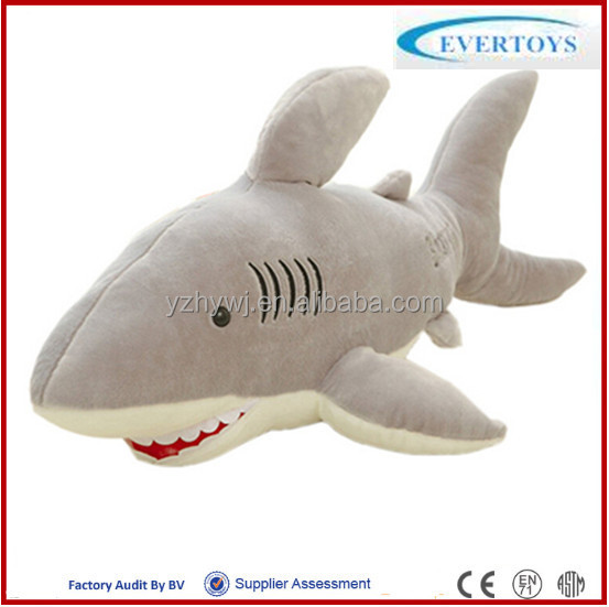 great white shark plush toys for Valentine's day gifts