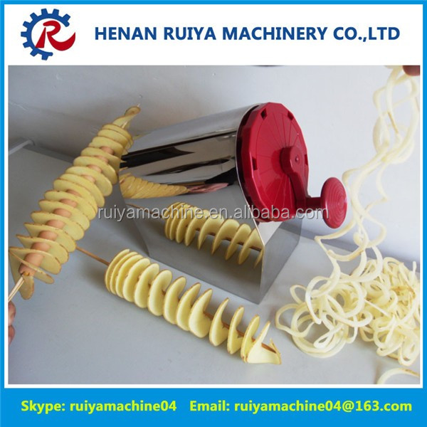 Manual Tornado Potato Twist Cutter Spiral Potato Slicer Potato Machine