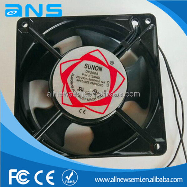 SUNON 120S axial flow fan 12038 220V AC cooling fan