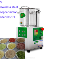 stainless steel food chopper vegetable gringing machine cutter