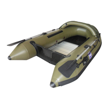 CE Certification PVC &HYPALON Aluminium Military patrol inflatable pontoon fishing boat