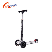 Best quality promotional adjustable 120mm cool kid kick scooter with union jack