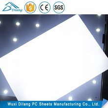 Cheapest building lightweight lamp shade plastic sheet material