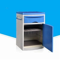 modern medical ABS plastic hospital bedside cabinet