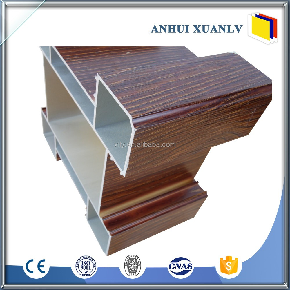 Factory horizontal aluminum window and door extrusion profiles