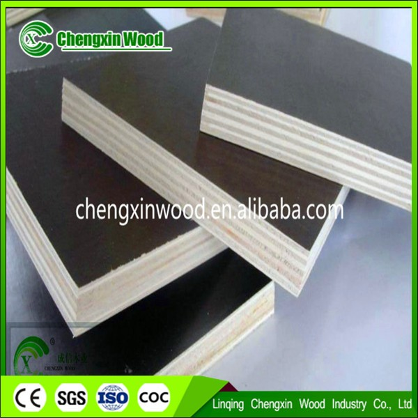 Concrete Shuttering plywood,Wood construction material cheap commercial Brown/ black film faced plywood for construction