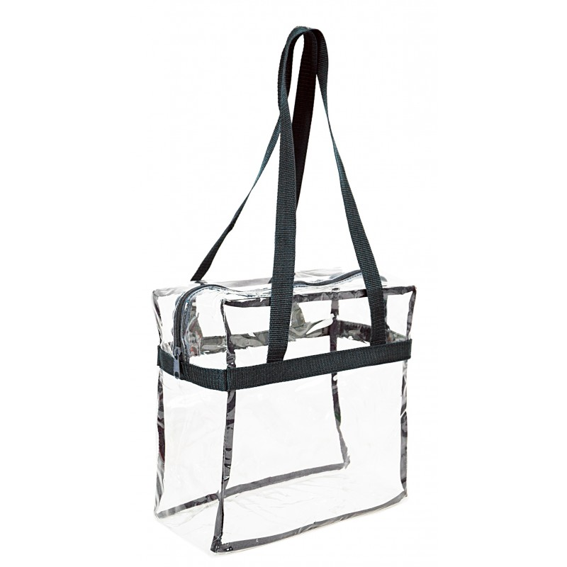 Wholesale Clear Stadium Tote PVC Shopping Bag With 35 inch Long Handles