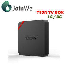 Joinwe T95n 1g8g High Speed T Box Quad Core Android 5.1smart Tv Box T95n Fast Speed