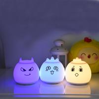High quality baby sensor small rechargeable led christmas soft night light