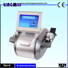 Multipolar RF Radio Frequency Ultrasonic Cavitation Tripolar Vacuum Slimming Machine / RU+5