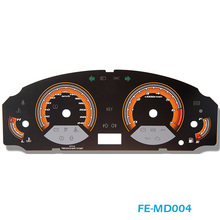 FE-MD004 Screen Printing Automobile Speedometer Faceplates Meter Dial for Used Cars