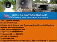 Made in china products Hengshui Qijia Company of corrugated steel culvert pipe