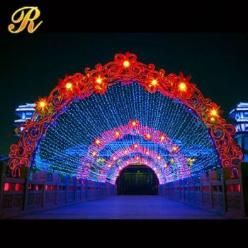Structural disabilities led marriage decorations