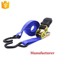 Factory direct 25mm Cargo Lashing Tie Down Ratchet Strap