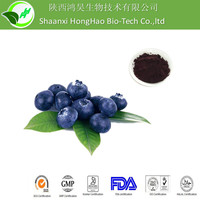 Antioxidant purple red powder organic 4:1 bilberry fruit extract
