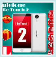Original Ulefone Be Touch 2 5.5 inch 1920*1080 MTK6752 Octa Core 3GB RAM 16GB ROM Android 5.1 3050mAh battery 4G Mobile Phone