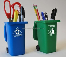 Creative Mini Recycle Bin Plastic Pen Houder