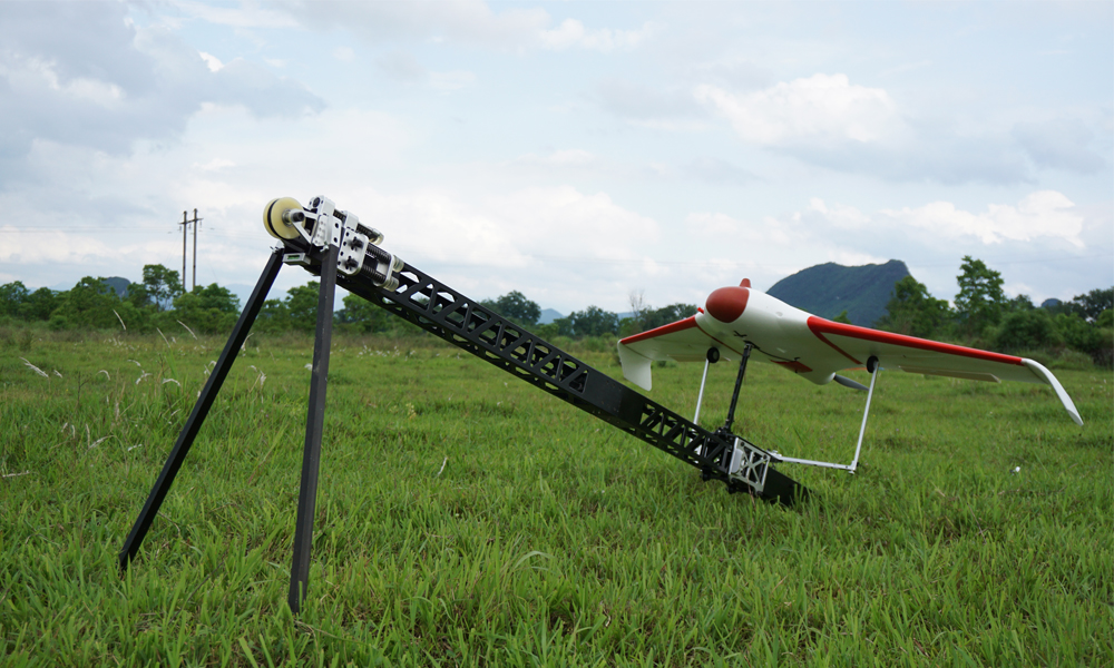 FeiyuTech new catapult for rc plane launching for uav aerial surveying and mapping