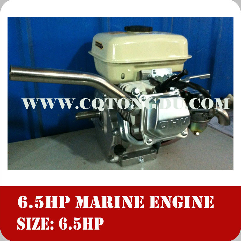 6.5hp 170f single cylinder 4 stroke outboard small boat marine engine
