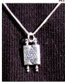Sterling Silver Torah Necklace