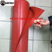 silicon rubber coated fiberglass cloth silicon coating silicon cloth