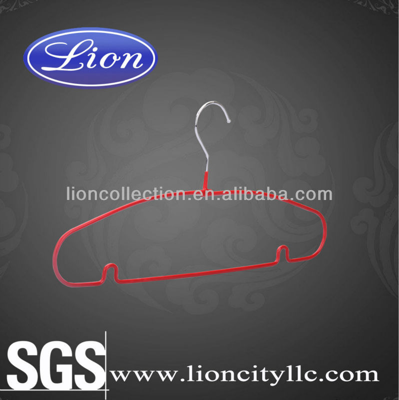 LEC-M5044 decorative coat hanger wire coat hanger