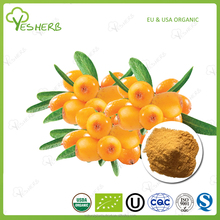ISO factory sea buckthorn berry juice powder