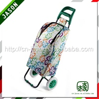 Satin luggage trolley cooler bag A2S-B