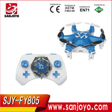 2016 Newest SJY-FY805 New Product 2.4G 6-Axis ufo Aircraft Quadcopter Flying Light Micro RC Drone Helicopter