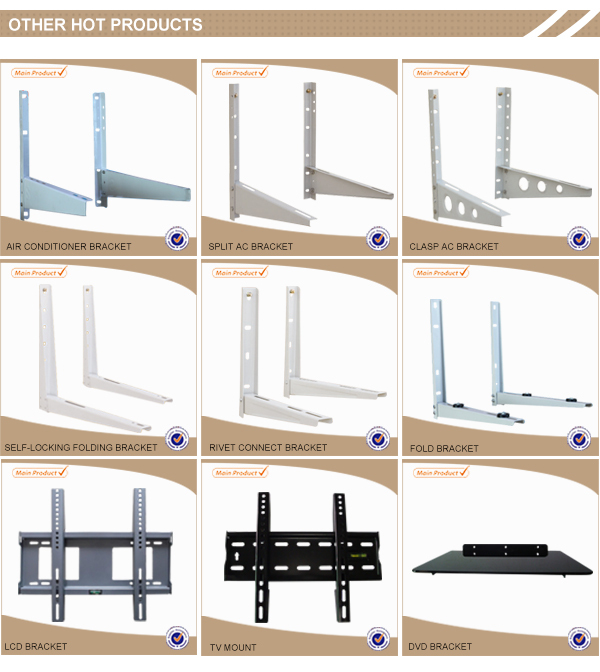 Professional Manufacturer! Cold Rolled Steel folding trestle table oem, Variety types of bracket