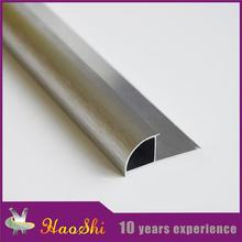 China flexible home protective decor aluminum flooring tile cover trim