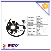 Top material 7 poles motorcycle magneto coil for sale with the certification ISO9001