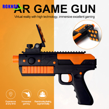 RGKNSE New Augmented Reality Toy Gun with Cell Phone Stand Holder AR gun toy with 3D AR Game Gun
