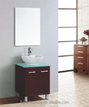 simple design mirror bathroom vanity