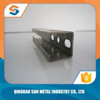 good quality stainless steel c type channel/galvanized channel/c-shape channel