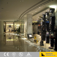 HK shoe showroom Top shop fashion fixtures bag and shoe retail store furniture