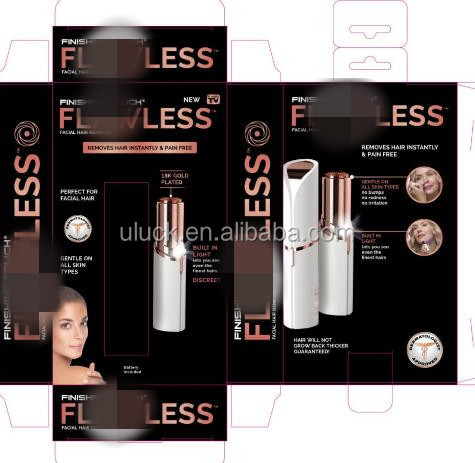 New Lipstick Shape Pocket Flawless Women's Painless Electric Hair Remover as seen on tv