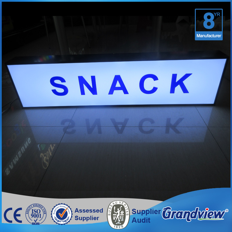 Promotional Shop Sign Board Light Box With Letter