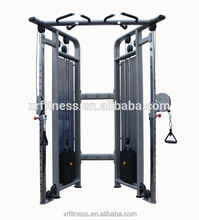 Commercial gym Equipment Functional Trainer name Dual adjustable Pulley