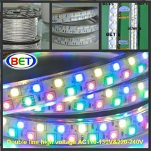 RGB 5050 Flexible LED strip Supplier 50m/roll IP67 LED lighting RGBW computer controller led strip