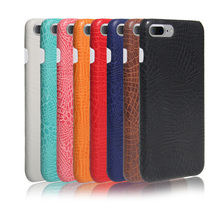 Crocodile pattern leather case + Pc cover For iphone 7 plus Mix Colors In stock