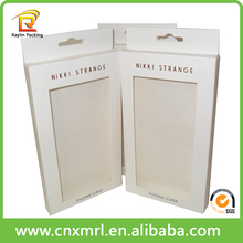 Customized High Quality Embossing Paper Box With Plastic Window