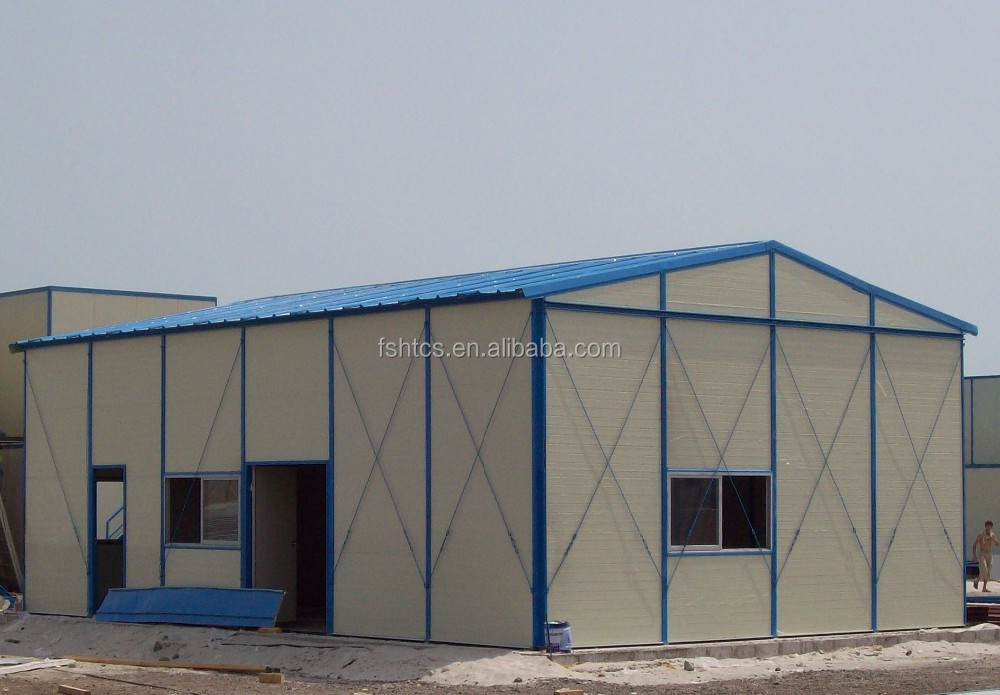 Light Steel Structure Prefabricated Mobile Homes for Middle East