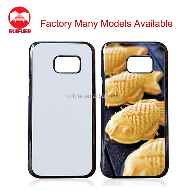 Factory Many Models Available TPU PC Blank 2D Sublimation Phone Case For Samsung Galaxy S7 Heat Transfer Printing